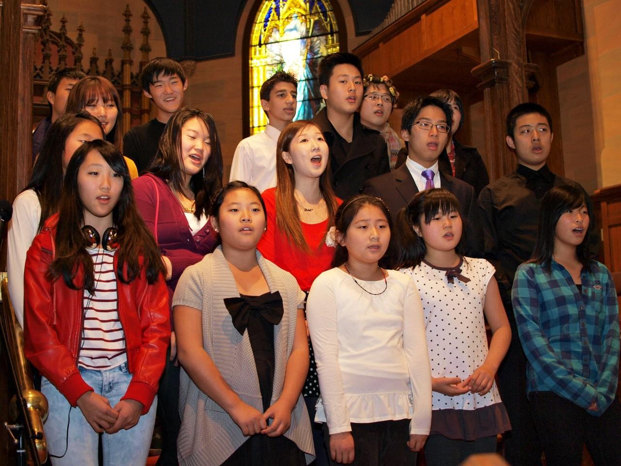 중고등 청년부 특별 공연(2011/12/25)
