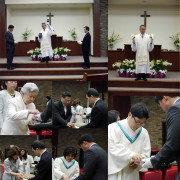 Easter Communion 2014