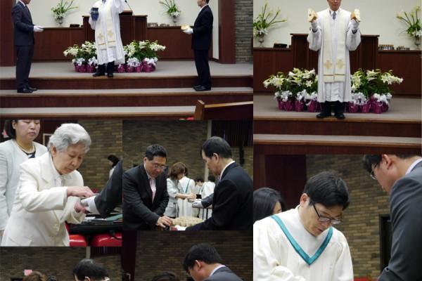 Easter Communion 2014
